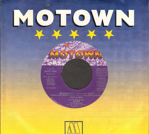 Boyz II Men - Motownphilly/Medley (RARE 1991 Hip-Hop two-sider with Motown company sleeve) - NM9/ - 45 rpm Records