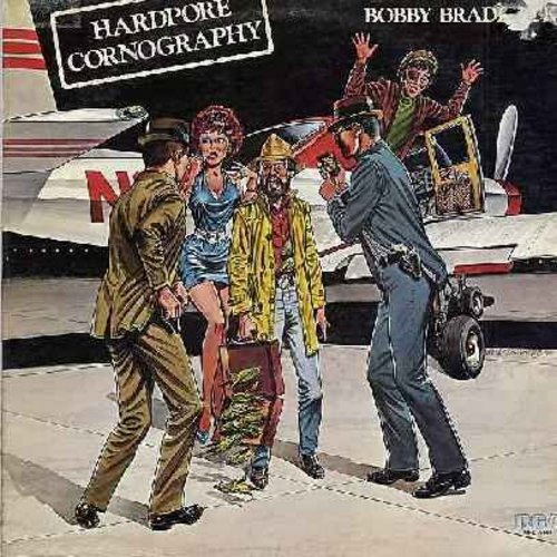 Braddock, Bobby - Hardpore Cornography: Dolly Parton's Hits, My Better Half, I Lobster But Never Flounder, Avalanche Of Romance (Vinyl STEREO LP record) - NM9/VG7 - LP Records