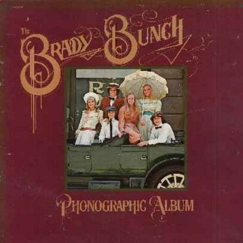 Brady Bunch - The Brady Bunch - Photographic Album: Zuckerman's Famous Pig, I'd Love You To Want Me, Gonna Find A Rainbow, Parallel Lines, Charlotte's Web (Vinyl STEREO LP record, RARE Novelty featuring the ensamble of TV's Brady Bunch) - EX8/VG7 - LP Rec