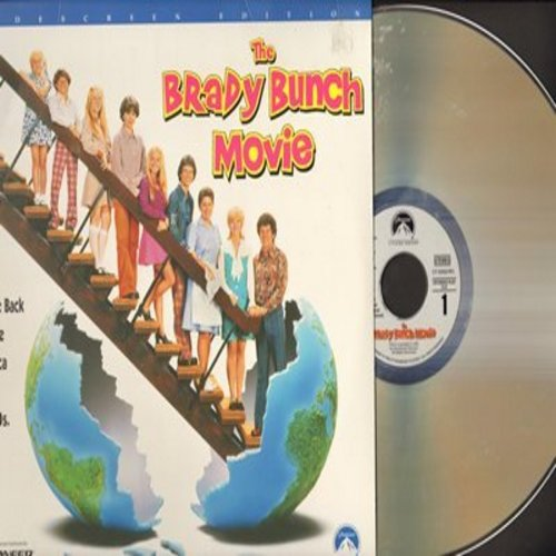 Brady Bunch Movie - The Brady Bunch Movie - Widescreen Laser Disc Version of the cult classic spoof of the cult classic TV sit-com (this is a LASER DISC, not any other kind of media!) - NM9/EX8 - Laser Discs