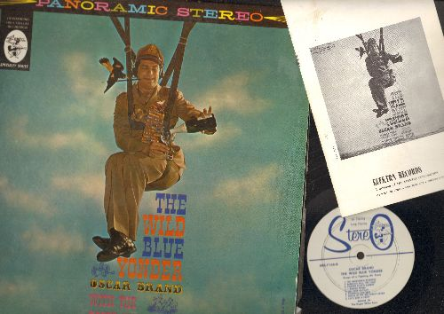 Brand, Oscar - The Wild Blue Yonder: Save A Fighter Pilot's Ass, Glory Flying Regulations, Come And Join The Air Force (vinyl STEREO LP record) - NM9/NM9 - LP Records