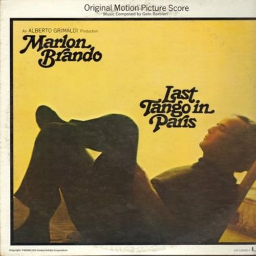 Last Tango In Paris - Last Tango In Paris - Original Motion Picture Sound Track (Vinyl STEREO LP record) - NM9/EX8 - LP Records