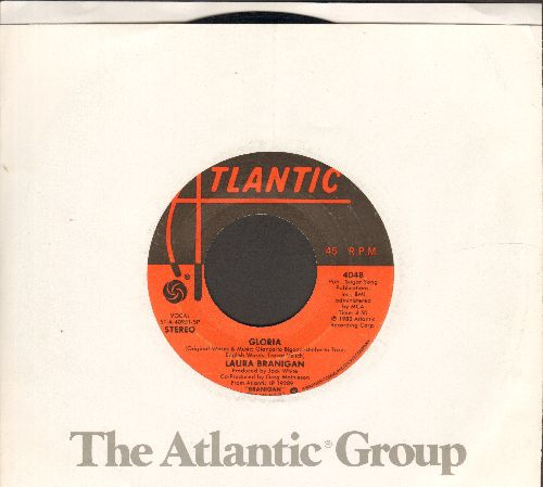 Branigan, Laura - Gloria/Living A Lie (with Atlantic company sleeve) - EX8/ - 45 rpm Records