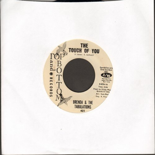 Brenda & The Tabulations - The Touch Of You/Stop Sneaking Around (DJ advance pressing) - VG7/ - 45 rpm Records