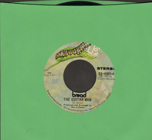 Bread - The Guitar Man/Just Like Yesterday - EX8/ - 45 rpm Records