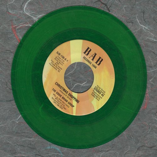 Brian, Eddie Group - Christmas Shopping/Back To '55 (GREEN Vinyl pressing of FANTASTIC Doo-Wop Retro-Sound two-sider!) - NM9/ - 45 rpm Records