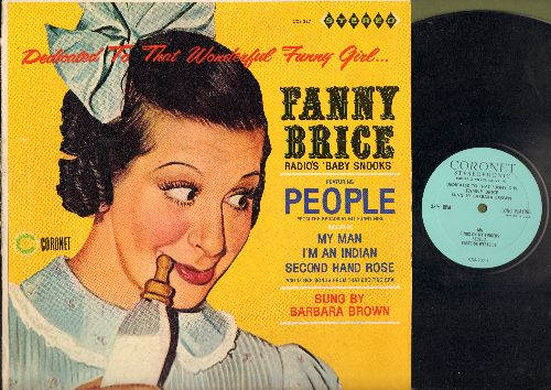 Brown, Barbara - Dedicated To That Wonderful Funny Girl... Fanny Brice - Radio's