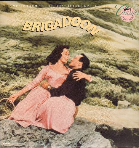 Brigadoon - Brigadoon - Original Motion Picture Soundtrack (vinyl LP record, 1986 re-issue) - NM9/NM9 - LP Records