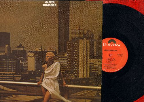Bridges, Alicia - Alicia Bridges: I Love The Nightlife (Disco Round), Body Heat, Break Away, In The Name Of Love, Self Applause, Diamond In The Rough (Vinyl STEREO LP record, NICE condition!) - NM9/EX8 - LP Records