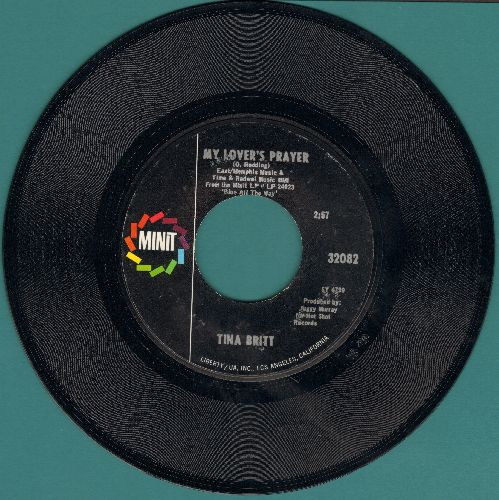 Britt, Tina - My Lover's Prayer/Hawg For You - NM9/ - 45 rpm Records