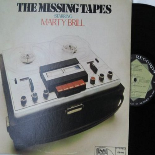Brill, Marty - The Missing Tapes Starring Marty Brill - Comedy/Parody of the Nixon Era Watergate Scandal (Vinyl STEREO LP record) - M10/EX8 - LP Records