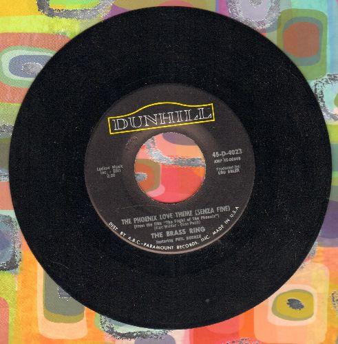 Brass Ring - The Phoenix Love Theme (Senza Fine)/Lightning Bug  - NM9/ - 45 rpm Records