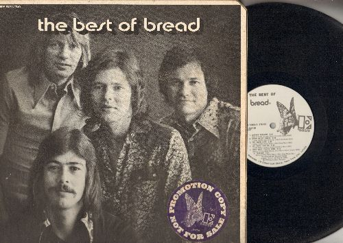 Bread - Best Of Bread: Everything I Own, If, It Don't Matter To Me, Make It With You (vinyl STEREO LP record, gate-fold cover, DJ advance pressing) - EX8/VG7 - LP Records