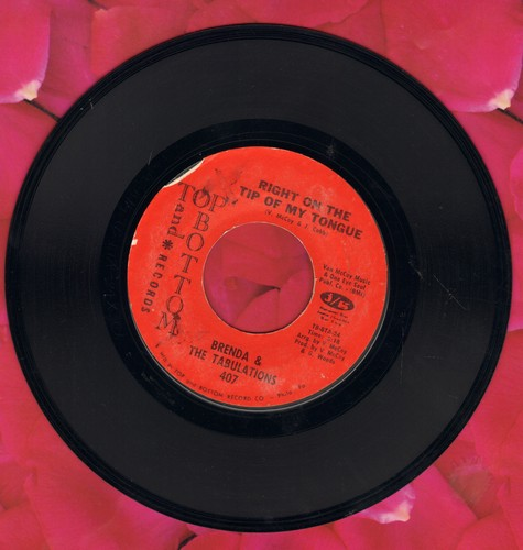 Brenda & The Tabulations - Right On The Tip Of My Tongue/Always & Forever  - VG7/ - 45 rpm Records
