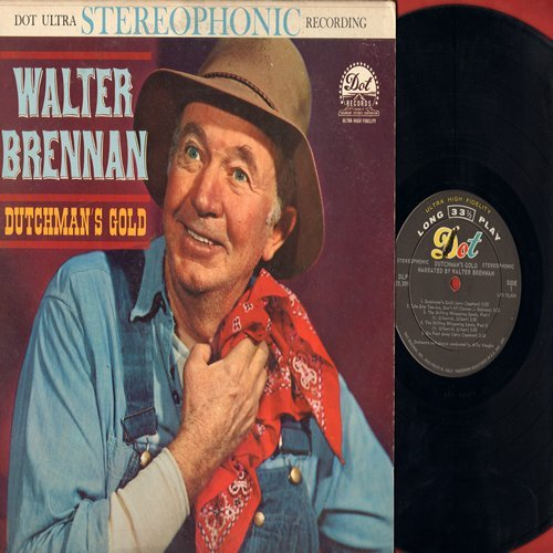 Brennan, Walter - Dutchman's Gold: I Believe, Old Shep, Suppertime, Back To The Farm, Tribute To A Dog (vinyl STEREO LP record) - NM9/VG7 - LP Records