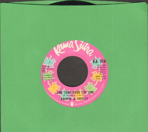Brewer & Shipley - One Toke Over The Line/Oh Mommy - NM9/ - 45 rpm Records