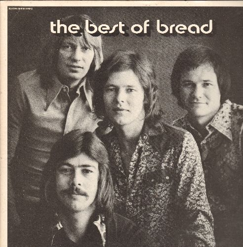Bread - Best Of Bread: Everything I Own, If, It Don't Matter To Me, Make It With You (Vinyl STEREO LP record, gate-fold cover) - M10/EX8 - LP Records