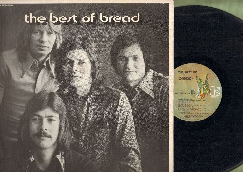 Bread - Best Of Bread: Everything I Own, If, It Don't Matter To Me, Make It With You (Vinyl STEREO LP record, gate-fold cover) - EX8/NM9 - LP Records