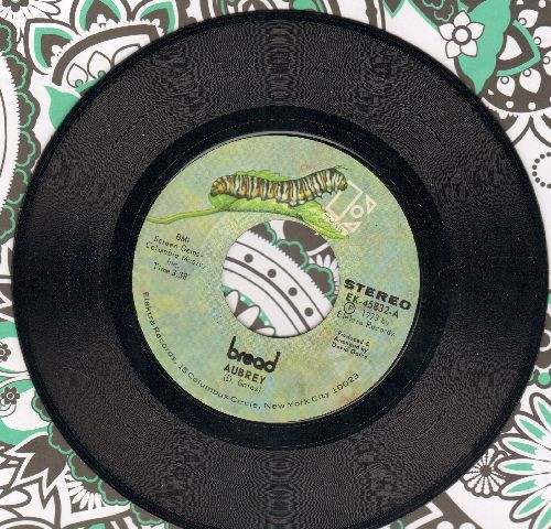 Bread - Aubrey/Didn't Even Know Her Name  - NM9/ - 45 rpm Records