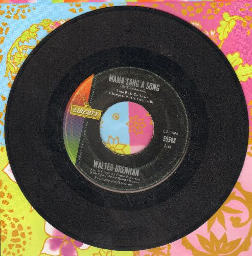 Brennan, Walter - Mama Sang A Song/Who Will Take Gramma  - EX8/ - 45 rpm Records