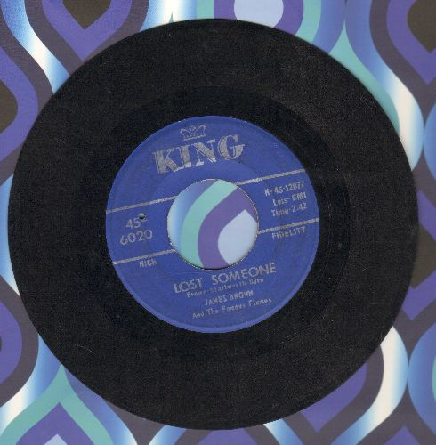 Brown, James & The Famous Flames - Lost Someone/I'll Go Crazy (bb) - VG7/ - 45 rpm Records
