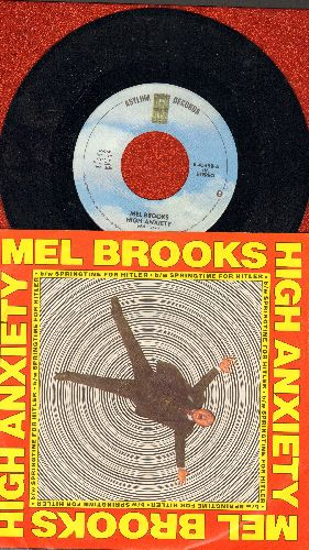 Brooks, Mel - High Anxiety/Springtime For Hitler (with RARE picture sleeve) - NM9/EX8 - 45 rpm Records