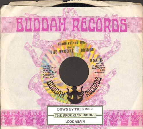 Brooklyn Bridge - Down By The River/Look Again (with juke box label Buddah company sleeve) - NM9/ - 45 rpm Records