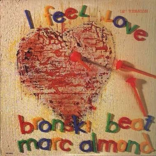 Bronski Beat with Marc Almond - I Feel Love/Love To Love You Baby/Johnny Remember Me (12 inch 45rpm vinyl Maxi Single featuring 5 Dance Club Tracks) - NM9/NM9 - Maxi Singles