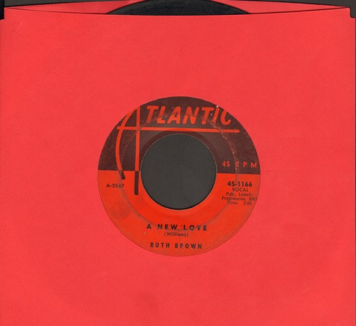 Brown, Ruth - A New Love/Look Me Up - G5/ - 45 rpm Records