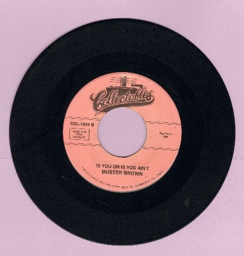 Brown, Buster - Fannie Mae/Is You Or Is You Ain't (double-hit re-issue) - EX8/ - 45 rpm Records