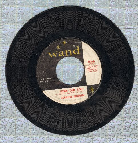 Brown, Maxine - Little Girl Lost/You Upset My Soul (bb) - VG6/ - 45 rpm Records