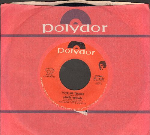 Brown, James - Love Me Tender/The Spank (with Polydor company sleeve) - NM9/ - 45 rpm Records
