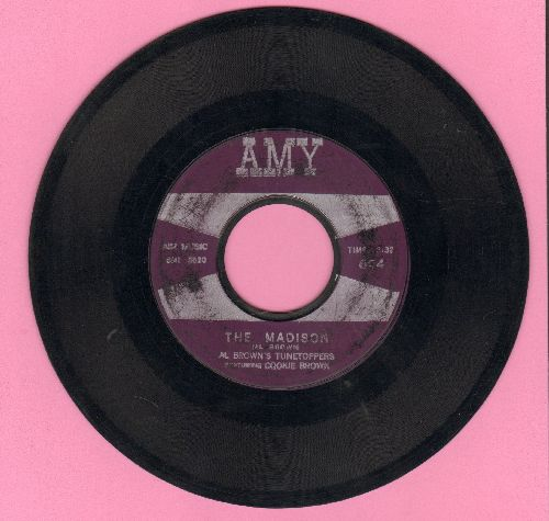 Brown, Al Tunetoppers Featuring Cookie Brown - The Madison/Mo' Madison  - VG7/ - 45 rpm Records