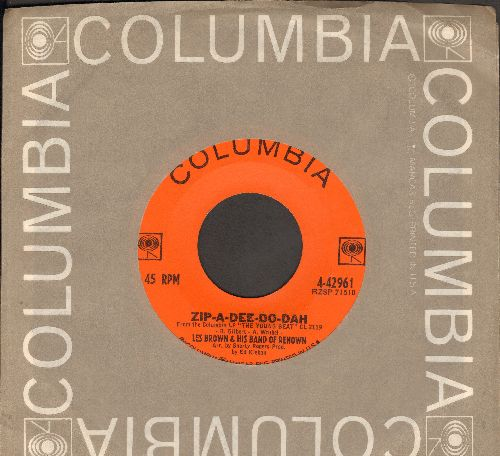 Brown, Les & His Band Of Renown - Zip-A-Dee-Do-Dah/La Bomba (FANTASTIC 1960s Go-Go Sound!) (with Columbia company sleeve) - EX8/ - 45 rpm Records