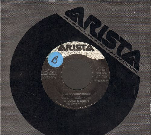 Brooks & Dunn - Boot Scootin' Boogie/Lost And Found (with Arista company sleeve) (sol) - EX8/ - 45 rpm Records