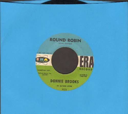 Brooks, Donnie - Round Robin/Doll House  - EX8/ - 45 rpm Records