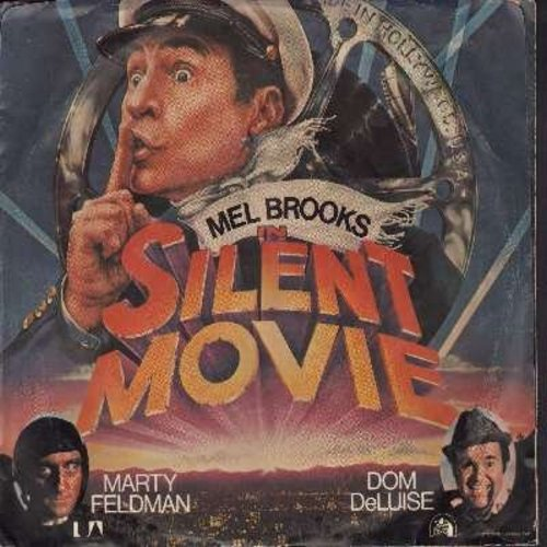 Newman, Lionel - The Silent Movie March (double-A-sided DJ advance copy with picture sleeve) - EX8/EX8 - 45 rpm Records