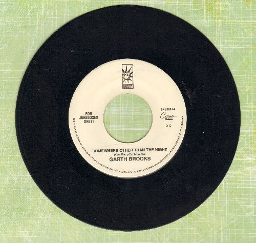 Brooks, Garth - Somewhere Other Than The Night/Mr. Right - EX8/ - 45 rpm Records