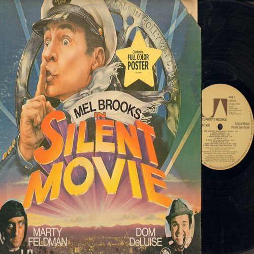 Silent Movie - Silent Movie - Original Motion Picture Sound Track (Vinyl STEREO LP record) - EX8/VG7 - LP Records