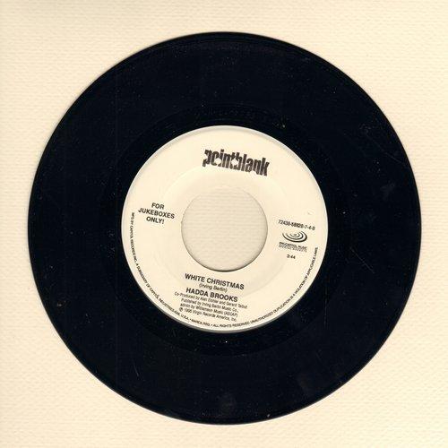 Brooks, Hadda - White Christmas/Christmas Celebration (by B. B. King on flip-side) - M10/ - 45 rpm Records