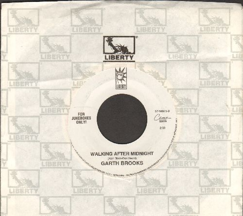 Brooks, Garth - Walking After Midnight/Learning To Live Again (with company sleeve) - EX8/ - 45 rpm Records