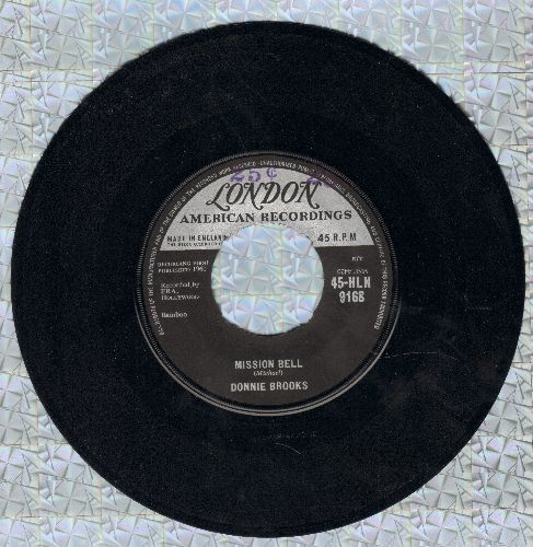 Brooks, Donnie - Mission Bell/Do It For Me (double-hit re-issue) - EX8/ - 45 rpm Records