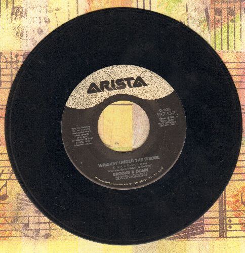 Brooks & Dunn - Whisky Under The Bridge/My Kind Of Crazy - EX8/ - 45 rpm Records