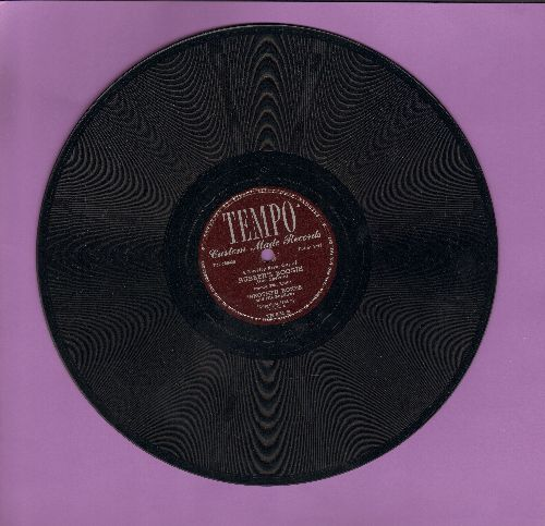 Brother Bones & His Shadows - Bubber's Boogie/Rosetta - EX8/ - 78 rpm