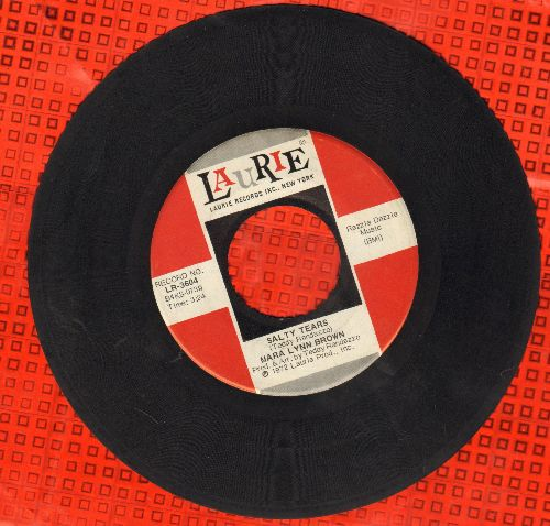 Mara Lynn Brown - Salty Tears/All The Kings Horses - EX8/ - 45 rpm Records