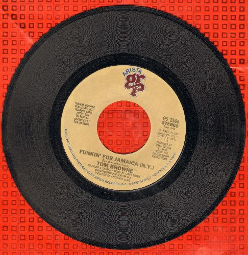 Browne, Tom - Funkin' For Jamaica (N.Y.)/Dreams Of Lovin' You - EX8/ - 45 rpm Records