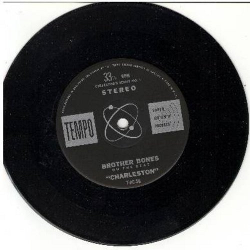 Brother Bones - Charleston/Runnin' Wild (RARE 7 inch 33rpm STEREO record with small spindle hole) - NM9/ - 45 rpm Records