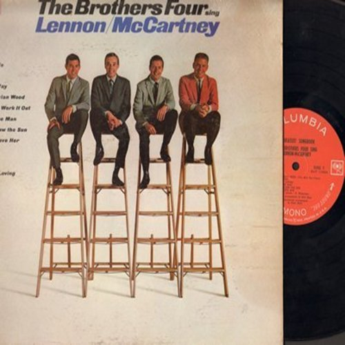 Brothers Four - Beatles Songbook: Yesterday, Norwegian Wood, Nowhere Man, And I Love Her, Help!, Michelle, We Can Work It Out (Vinyl MONO LP record) - EX8/VG6 - LP Records