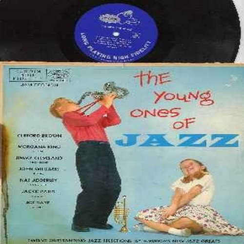 Brown, Clifford, Morgana King, Jimmy Cleveland, Nat Adderley, Joe Saye, others - The Young Ones Of Jazz: Gertrude's Bounce, Frankie And Johnny, Little Beaver, Little Joanie Walks, Moon Song, I'll Know (Vinyl MONO LP record, RARE blue label first issue) -
