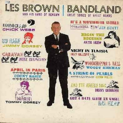 Brown, Les & His Band Of Renown - Great Songs Of Great Bands: Undecided, Caravan, Woodchopper's Ball, Begin The Beguine, A String Of Pearls (Vinyl MONO LP record, red label, 6 white eyes) - EX8/EX8 - LP Records